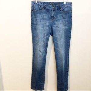 Escada Sport Luca Straight Leg Jewel Pocket Jeans